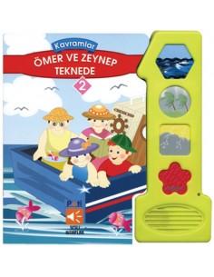Pati Eğitim Sesli Kitap Ömer ve Zeynep Teknede