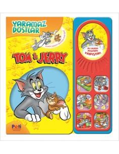 Pati Eğitim Sesli Kitap Tom ve Jerry Yaramaz Dostlar