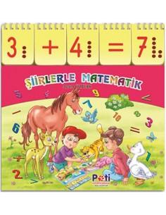 Pati Eğitim Kartlı Kitap Şiirlerle Matematik