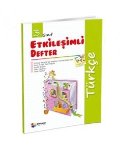 Dörtrenk Yayınları 3.Sınıf Türkçe Etkileşimli Defter