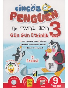 Damla Yayınları Cingöz Penguen 3. Sınıf Yarıyıl Tatil Kitabı