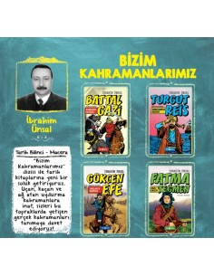 Genç Hayat Yayınları Bizim Kahramanlarımız Ortaöğretim Hikaye Seti