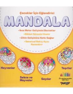 Nesil Çocuk Yayınları Mandala Zeka Geliştirici Boyama Seti