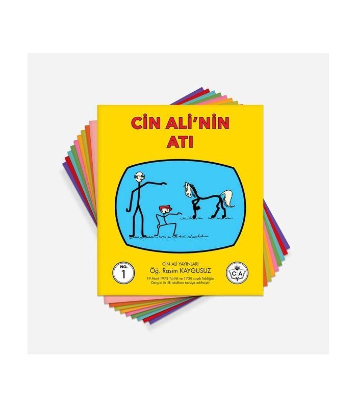 Cin Ali Serisi 1 Sınıflar Için Cin Ali Hikaye Kitapları