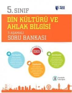 Teas Press 5.Sınıf Din Kültürü ve Ahlak Bilgisi 3 Aşamalı Soru Bankası