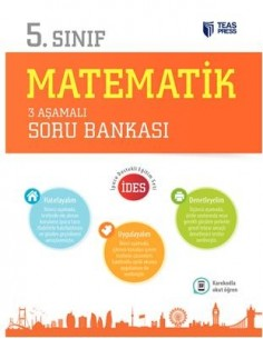 Teas Press 5.Sınıf Matematik 3 Aşamalı Soru Bankası