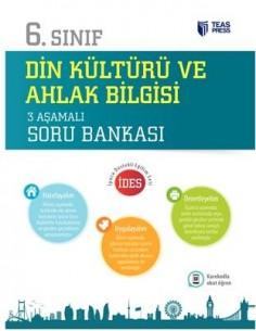Teas Press 6.Sınıf Din Kültürü ve Ahlak Bilgisi 3 Aşamalı Soru Bankası