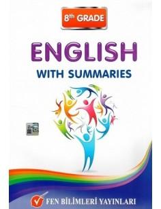 Fen Bilimleri Yayınları 8.Sınıf İngilizce With Summaries