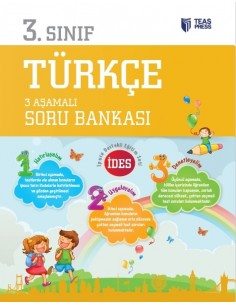 Teas Press 3.Sınıf Türkçe İDES 3 Aşamalı Soru Bankası