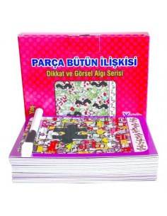 Yuka Kids 7 - 77 Yaş Parça Bütün İlişkisi
