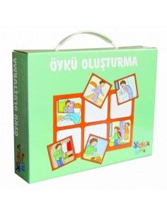 Yuka Kids Yayınları 2 Yaş Ve Üzeri Öykü Oluşturma Plus