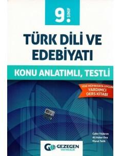 Gezegen Yayıncılık 9.Sınıf Türk Dili ve Edebiyatı Konu Anlatımlı Testli