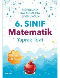 Nartest 6.Sınıf Matematik Yaprak Testi