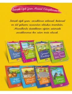 Çilek Kitaplar Bitişik Eğik Yazı Masal Kitaplarım ( 8 Kitap)