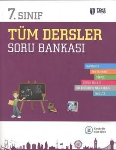Teas Press 7.Sınıf Tüm Dersler Soru Bankası