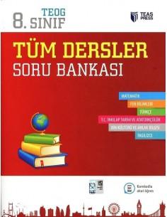 Teas Press 8.Sınıf Tüm Dersler Soru Bankası