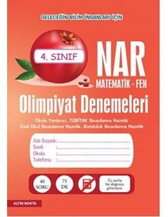 Altın Nokta 4.Sınıf NAR Olimpiyat Denemeleri Matematik - Fen