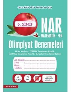 Altın Nokta 6.Sınıf NAR Olimpiyat Denemeleri Matematik - Fen