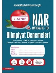 Altın Nokta 7.Sınıf NAR Olimpiyat Denemeleri Matematik - Fen