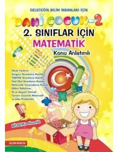 Altın Nokta 2.Sınıf Dahi Çocuk 2 BİLSEM Hazırlık Matematik Konu Anlatım