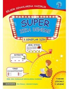Altın Nokta 3.Sınıf BİLSEM Hazırlık 5 Süper Zeka Deneme