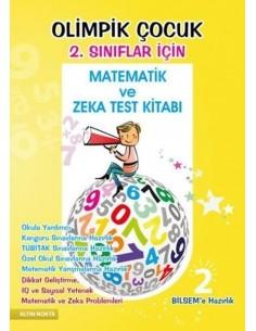 Altın Nokta 2.Sınıf BİLSEM Olimpik Çocuk Matematik Zeka ve Test Kitabı