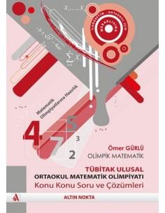 Altın Nokta Ortaokul Tübitak Ulusal  Matematik Olimpiyatı Soru ve Çözümleri