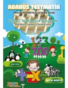 Altın Nokta Abaküs Testmatik Mental Aritmetik Alıştırma Kitabı