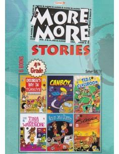 Kurmay Yayınları More&More Stories 4. Sınıf Hikaye Serisi