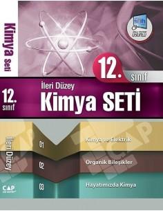 Çap Yayınları 12.Sınıf İleri Düzey Kimya Seti