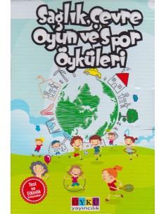 Öykü Yayıncılık Sağlık, Çevre Oyun ve Spor Öyküleri (10 Kitap)