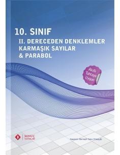 Sonuç Yayınları 10.Sınıf II. Dereceden Denklemler Karmaşık Sayılar Parabol