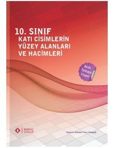 Sonuç Yayınları 10.Sınıf Katı Cisimlerin Yüzey Alanı ve Hacimleri