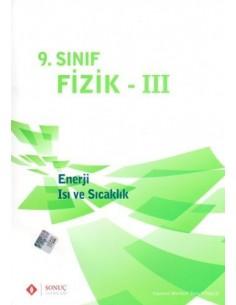 Sonuç Yayınları 9.Sınıf Fizik Enerji ve Sıcaklık