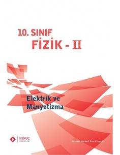 Sonuç Yayınları 10.Sınıf Fizik Elektrik ve Manyetizma
