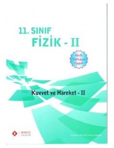 Sonuç Yayınları 11.Sınıf Fizik Kuvvet ve Hareket 2