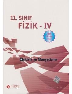 Sonuç Yayınları 11.Sınıf Fizik Elektrik ve Manyetizma