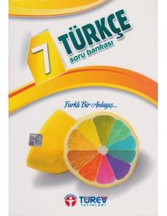 Türev Yayınları 7.Sınıf Türkçe Soru Bankası