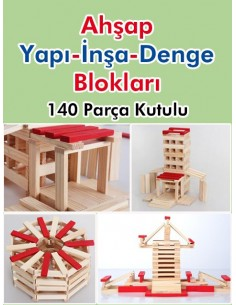 More about Hobi 140 Parça Ahşap Denge Oyunu