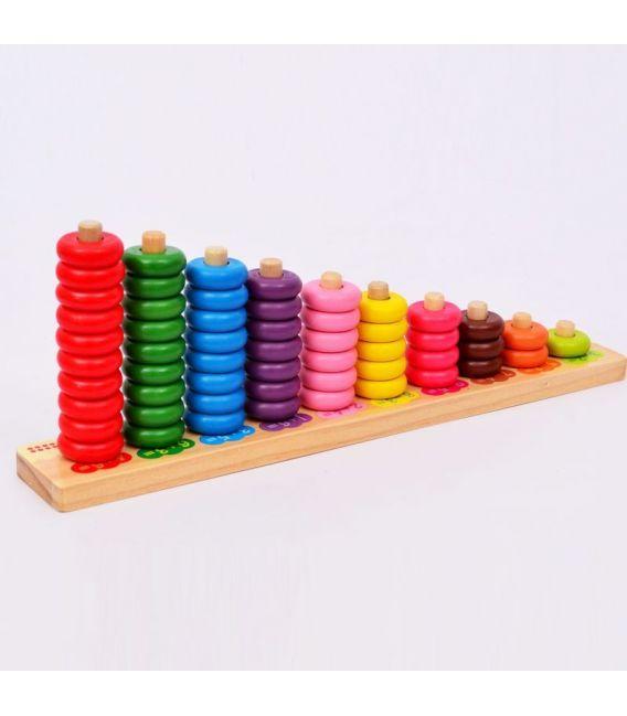 Hobi Renkli Sayı Boncukları