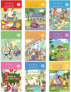 Yapa Yayınları Okul Öncesi Q Çocuk Seti (5 Yaş ve Üstü)