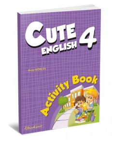 Birkent Yayınları Cute English Activity Book 4