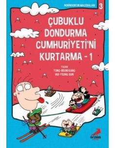 Erdem Yayınları Çubuklu Dondurma Cumhuriyeti'ni Kurtarma