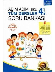 Işıklı Yayınları 4.Sınıf Adım Adım Tüm Dersler Soru Bankası