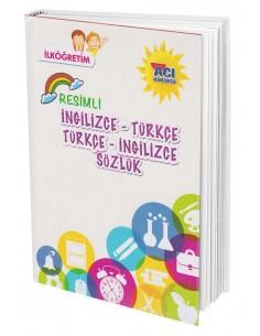 Açı Yayınları Resimli İngilizce - Türkçe & Türkçe - İngilizce  Sözlük