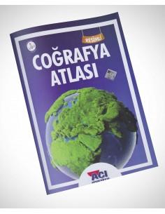 Açı Yayınları Resimli Coğrafya Atlas