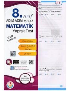 Işıklı Yayınları Adım Adım Işıklı 8.Sınıf Matematik Yaprak Test