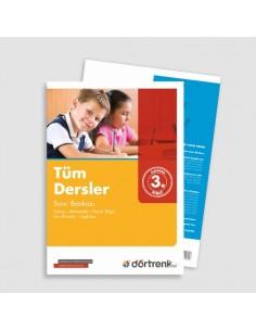 Dörtrenk Yayınları 3.Sınıf RD Tüm Dersler Soru Bankası