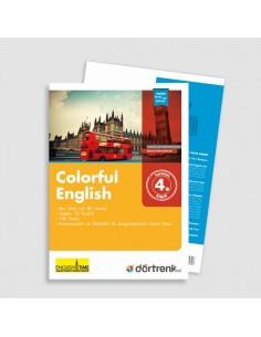 Dörtrenk Yayınları 4.Sınıf RD Grimer Colorful English Set