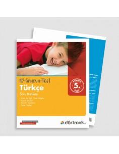 Dörtrenk Yayınları 5. Sınıf RD-GRİNOVA Türkçe Soru Bankası